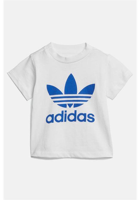 Completino neonato bianco azzurro adidas ADIDAS | Completini | GD2626.