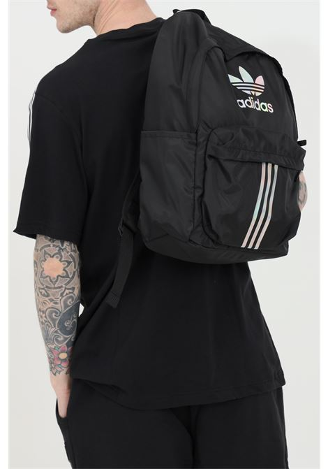 Black unisex adidas backpack with zip ADIDAS | Backpack | GD4529BLACK