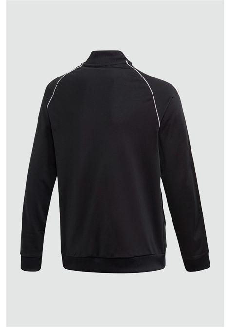 Black baby track top sst sweatshirt with zip adidas ADIDAS | Sweatshirt | GE1974..BLACK/WHITE