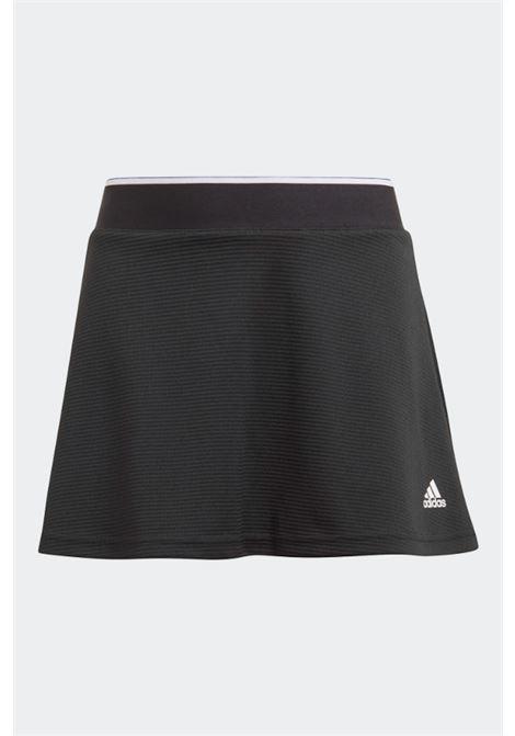 Black baby shorts fake skirt with elastic waistband adidas ADIDAS | Shorts | GK8170.