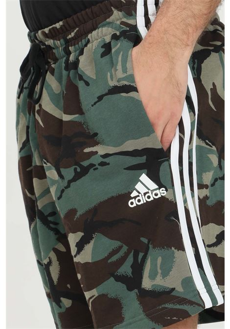 Shorts essentials frenchi terry camouflage ADIDAS | Shorts | GK9621.