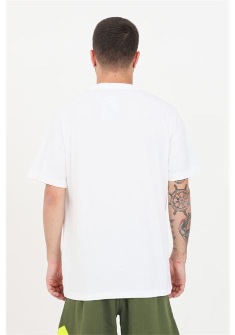 T-shirt essentials camouflage uomo bianco adidas a manica corta ADIDAS | T-shirt | GK9635.