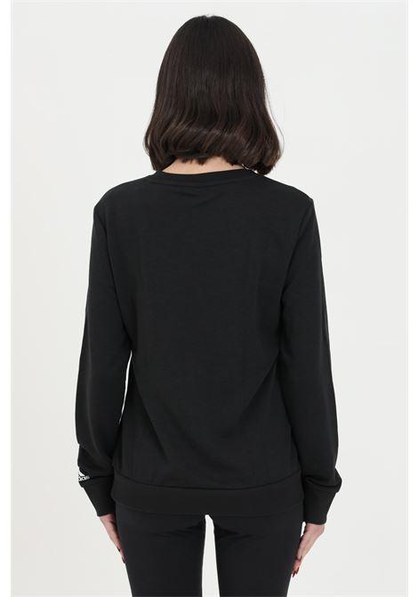 Adidas crewneck women's black sweatshirt ADIDAS | Sweatshirt | GL0718.