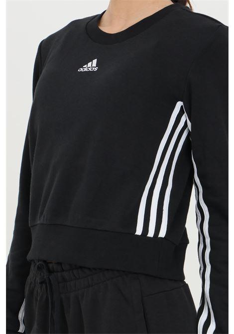 Sweatshirt essential crop 3-stripes ADIDAS | Sweatshirt | GL1405.