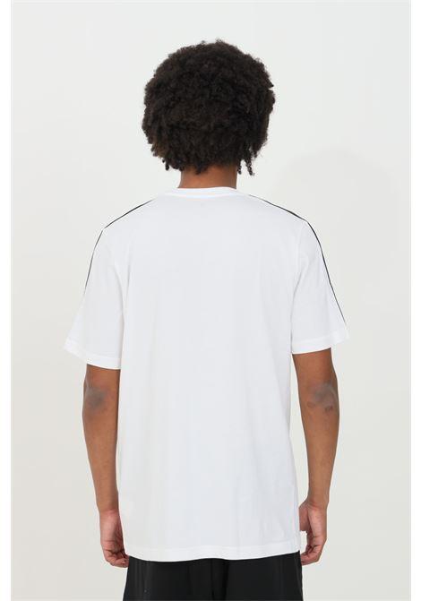 White men's essential 3-stripes t-shirt short sleeve adidas ADIDAS | T-shirt | GL3733.