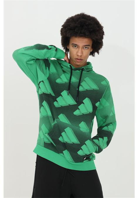 The adidas Allover Print sweatshirt  ADIDAS | Sweatshirt | GL5670.