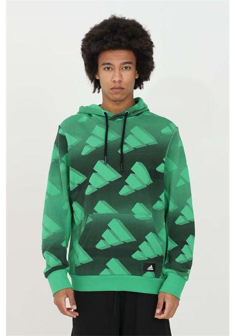 The adidas Allover Print sweatshirt  ADIDAS | Sweatshirt | GL5670.