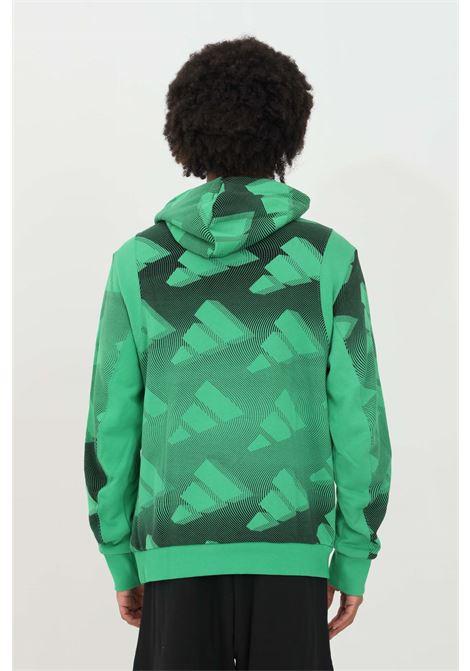 Felpa con cappuccio allover print pullover ADIDAS | Felpe | GL5670.