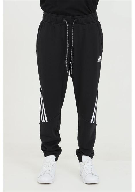 Pantaloni sportswear 3-stripe con vita elasticizzata ADIDAS   Pantaloni   GM3833.