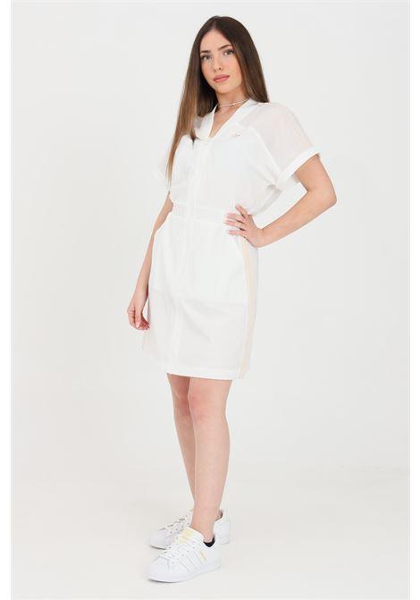 Abito donna bianco adidas no-dye dress ADIDAS | Abiti | GM5390.
