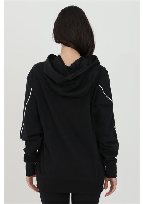 Hoodie in solid color and maxi logo in contrast ADIDAS | Sweatshirt | GM5516.