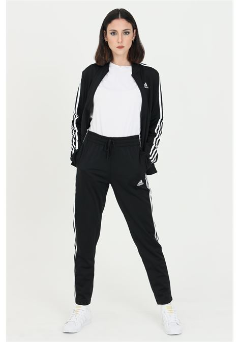 Adidas 3-stripes black women's tracksuit. ADIDAS | Suit | GM5534.