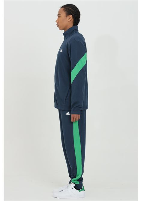 Two-tone jumpsuit with zip and waist elastic band ADIDAS | Suit | GM5806.