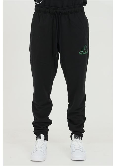 Graphic sportsweare trousers with 3d logo ADIDAS | Pants | GM6354.
