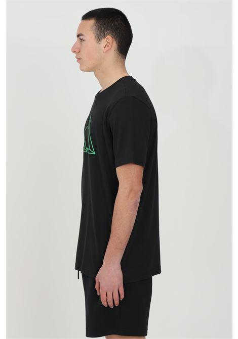 Black men's adidas performance t-shirt short sleeve adidas ADIDAS | T-shirt | GM6366.