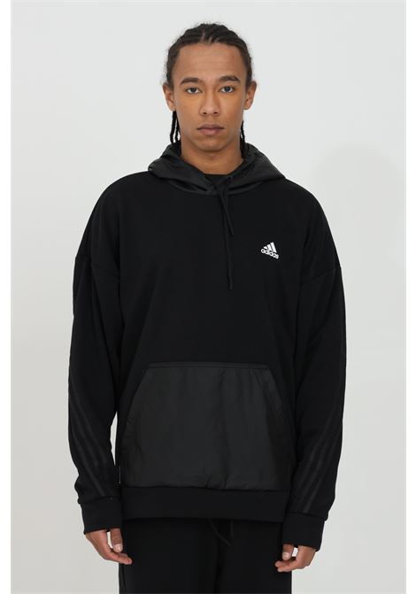 Hoodie and eco-leather inserts ADIDAS | Sweatshirt | GM6487.