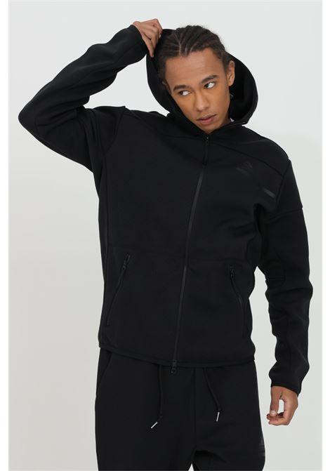 Sweatshirt with zip, solid color ADIDAS | Sweatshirt | GM6531.
