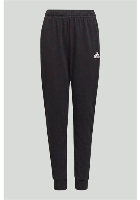 Black Colorblock Big Badge complete suit, sweatshirt with full length zip and front logo, and trousers with spring at the waist and elastic cuffs. Baby model. Brand: Adidas ADIDAS | Suit | GM8915.