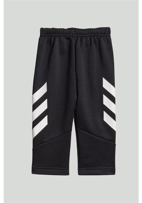 Black newborn mini me xfg jumsuit adidas ADIDAS | Suit | GM8961.