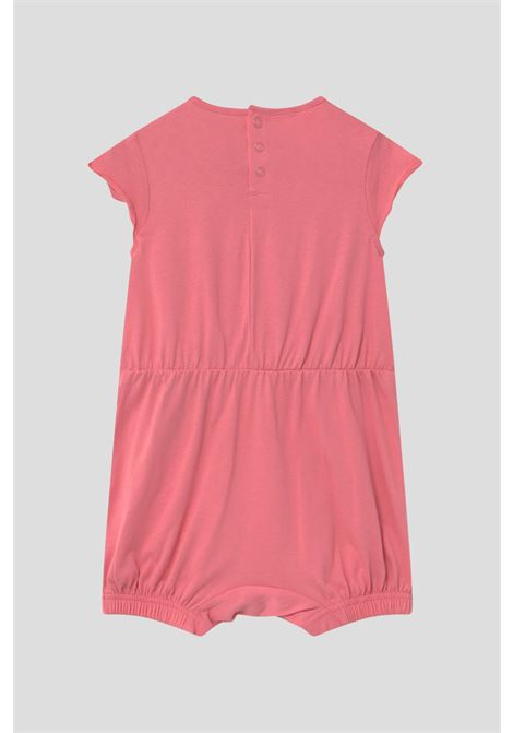 Pink baby body with contrasting logo on the front adidas   ADIDAS | Body | GM8972.