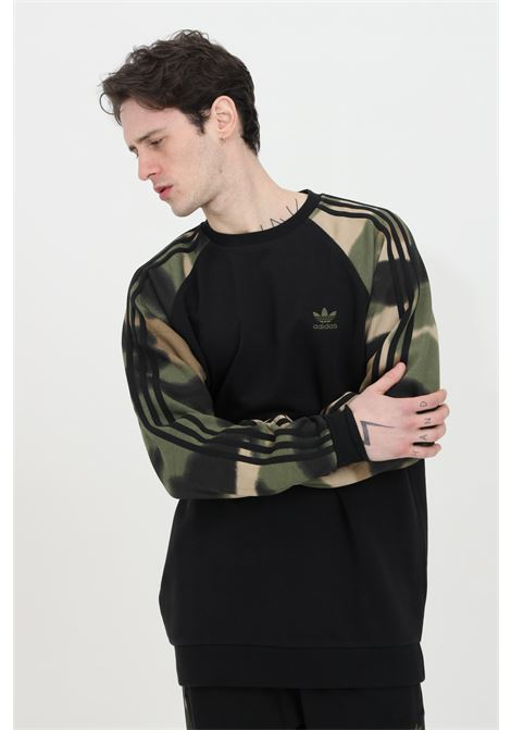 Sweatshirt camo stripes, crew neck  ADIDAS | Sweatshirt | GN1858.