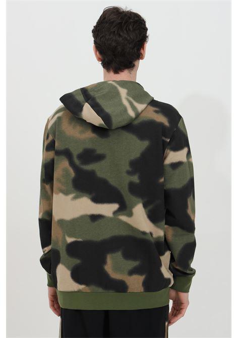 Hoodie with camouflage print  ADIDAS | Sweatshirt | GN1879.