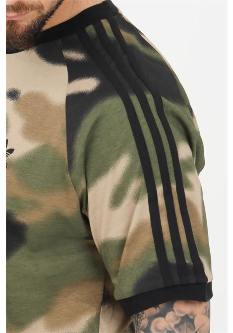 T-shirt uomo verde militare adidas a manica corta ADIDAS | T-shirt | GN1882.