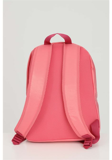 Pink backpack with silver bands and adjustable shoulder straps. Brand: Adidas ADIDAS | Backpack | GN2112.