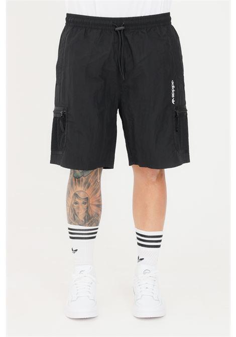 Shorts uomo nero adidas casual cargo ADIDAS | Shorts | GN2341.