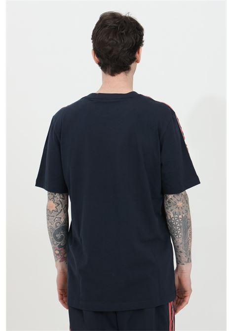Black men's t-shirt with bands on the shoulders short sleeve adidas ADIDAS | T-shirt | GN2420.