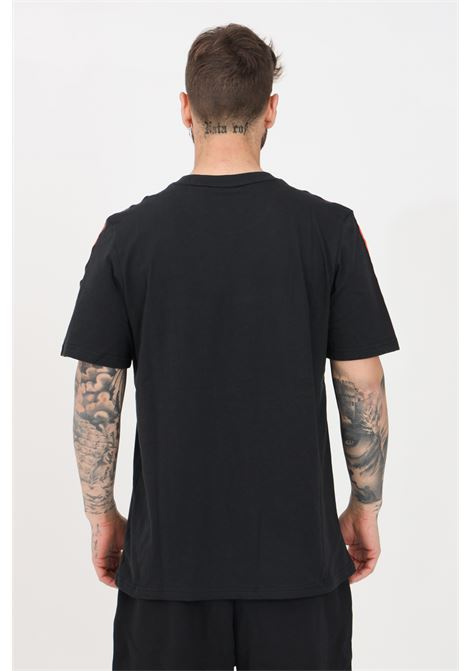 Black men's t-shirt with bands on the shoulders short sleeve adidas ADIDAS | T-shirt | GN2423.