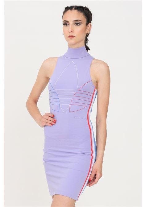 Lilac short dress adidas ADIDAS | Dress | GN2854.