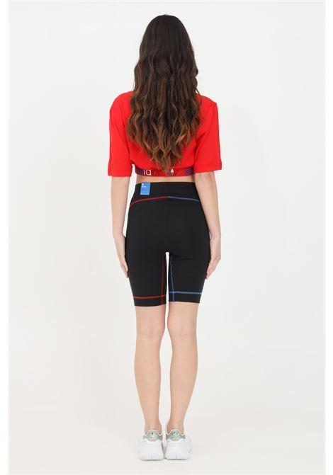 Shorts adicolor tricolor donna nero adidas sport ciclista ADIDAS | Shorts | GN2877.