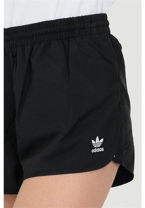 Black women's adicolor classic 3-stripes shorts adidas ADIDAS | Shorts | GN2885.