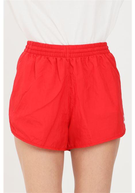 Shorts donna rosso adidas sport con elastico in vita e lacci ADIDAS | Shorts | GN2886.