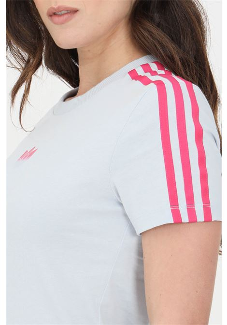 T-shirt adicolor 3d donna azzurro adidas a manica corta ADIDAS | T-shirt | GN2895.