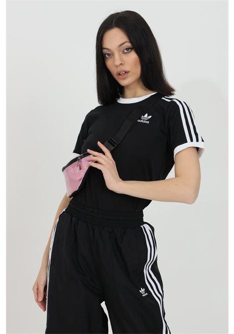 T-shirt girocollo tinta unita e logo ricamato ADIDAS | T-shirt | GN2900.