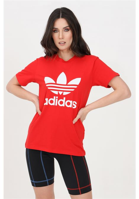Red women's adicolor classic t-shirt short sleeve adidas ADIDAS   T-shirt   GN2902.