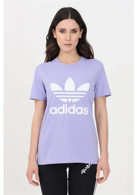 Lilac women's adicolor classic t-shirt short sleeve adidas ADIDAS | T-shirt | GN2905.
