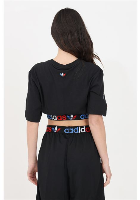 T-shirt originals over donna nero adidas a manica corta ADIDAS   T-shirt   GN2932.