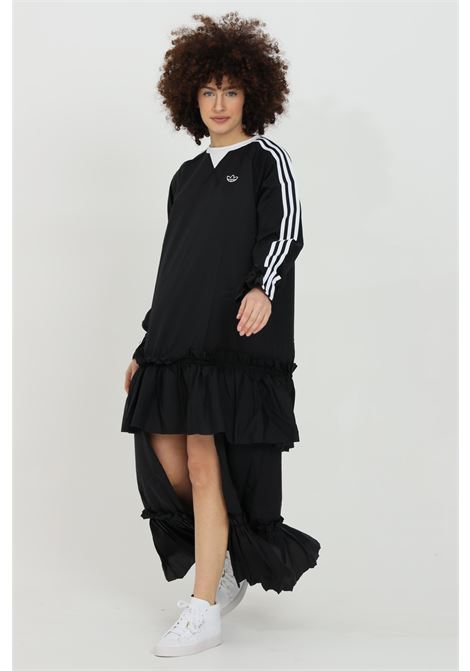 Dress with rouches on the bottom and side bands ADIDAS | Dress | GN3071.