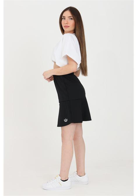 Gonna donna nero adidas midi e vita elasticizzata ADIDAS | Gonne | GN3144.