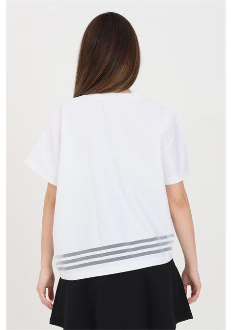 T-shirt donna bianco adidas a fondo ampio ADIDAS | T-shirt | GN3189.
