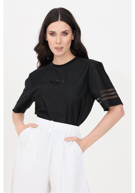 T-shirt originals donna nero adidas a manica corta ADIDAS | T-shirt | GN3208.