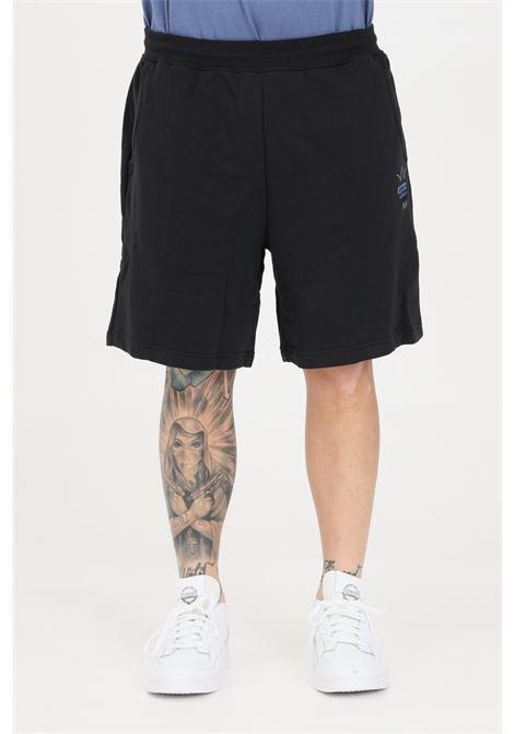 Shorts uomo nero adidas sport con elastico in vita e lacci ADIDAS | Shorts | GN3289.