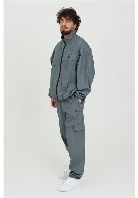 Pantaloni uomo grigio adidas sport, track RYV ADIDAS | Pantaloni | GN3325.