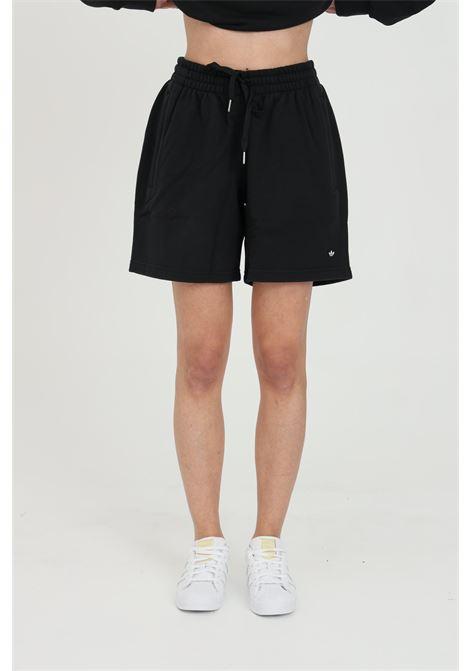 Shorts unisex nero adidas sport con vita elastica ADIDAS | Shorts | GN3366.