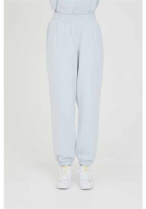 Light blue unisex trousers with elastic waist. Brand: Adidas ADIDAS | Pants | GN3369.
