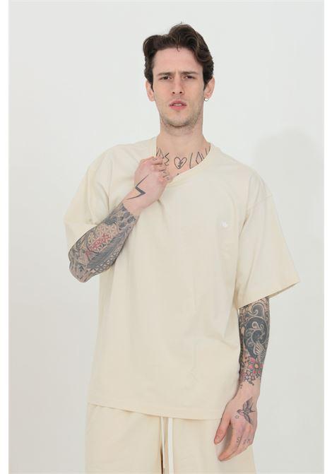T-shirt adicolor premium in tinta unita girocollo ADIDAS | T-shirt | GN3370.