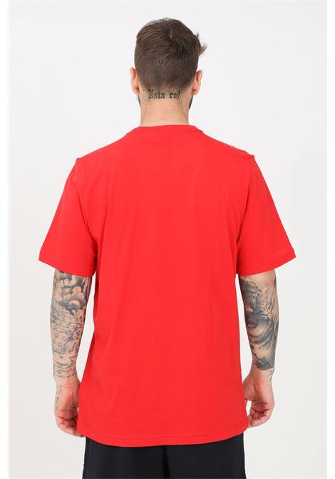 T-shirt essentials uomo rosso adidas manica corta ADIDAS | T-shirt | GN3408.